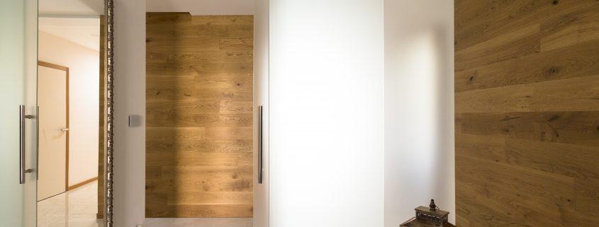 Posuvné celoskleněné dveře