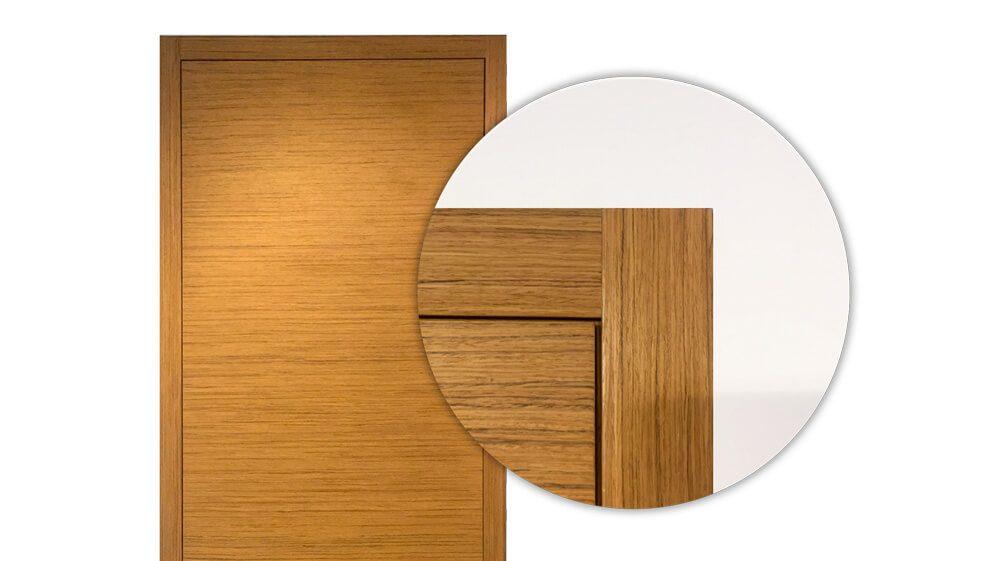 skrytý dveřní systém woody
