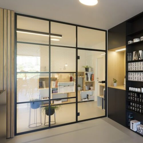 dělící stěna DIGERO v Showroomu designville