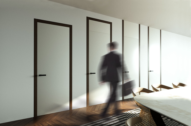 Typy dveří a rámových zárubní WOODY