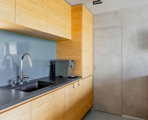 Dveře s betonouvou stěrkou ve skryté zárubni DORSIS