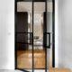 Celoskleněné dvoukřídlé dveře DIGERO DORSIS