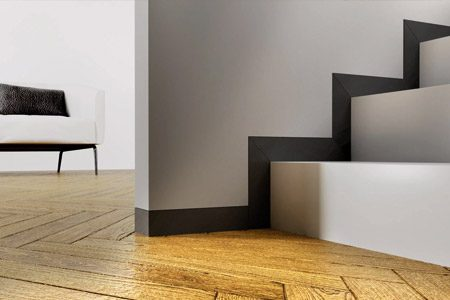 skrytá podlahová lišta LINUS